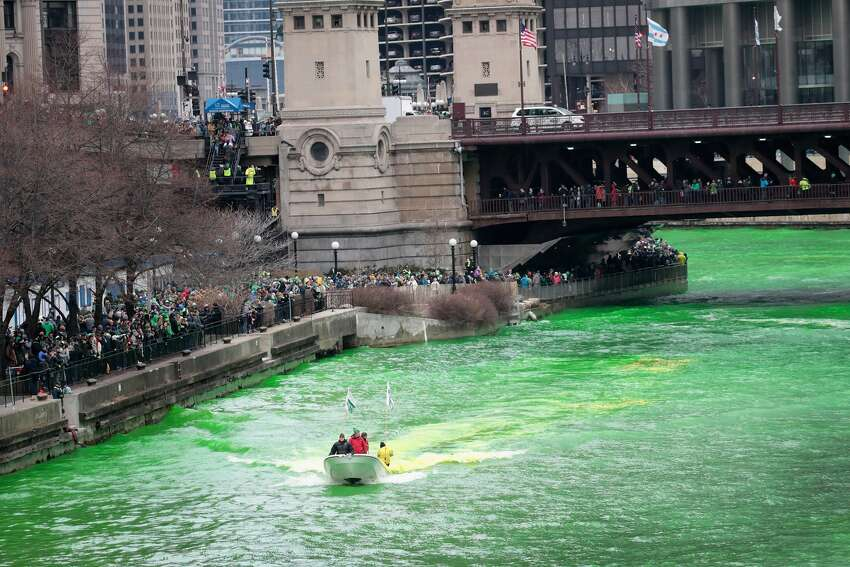 40 pounds Of dye is used to turn the Chicago River green. Source: WalletHub