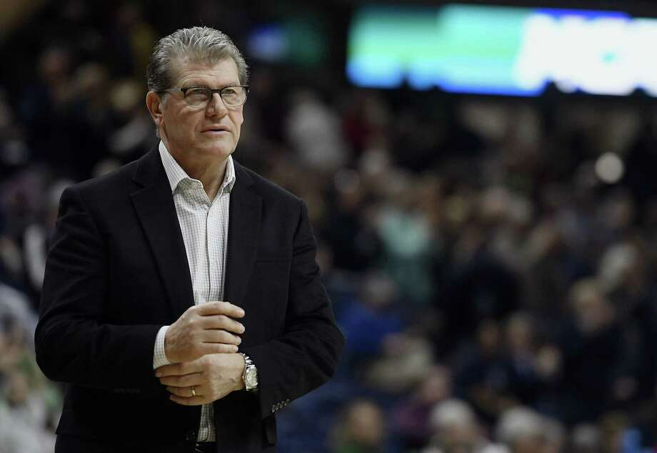 Geno Auriemma and the UConn women's basketball team will face Quinnipiac in the second round of the NCAA tournament on Monday. Photo: Jessica Hill / Associated Press / AP2018