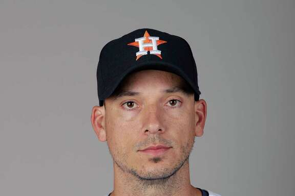 This is a 2018 photo of Charlie Morton of the Houston Astros baseball team. This image reflects the Houston Astros active roster as of Feb. 21, 2018 when this image was taken.  (AP Photo/John Raoux)