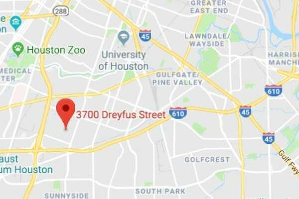 Police arrested three suspects in the 3700 block of Dreyfus Sunday afternoon.
