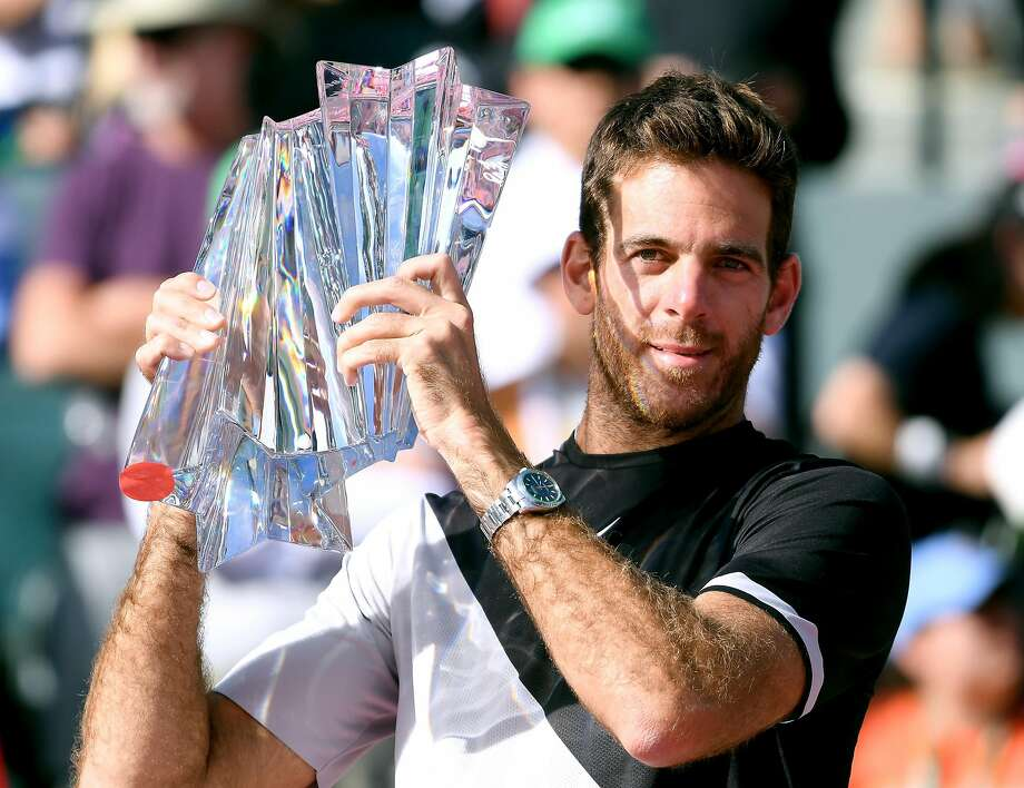 Juan Martin Del Potro is now 7-18 vs. Roger Federer. Photo: Harry How, Getty Images
