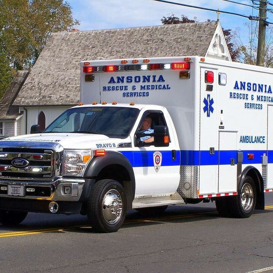 Ansonia Rescue Medical Services ambulance Photo: Contributed / Courtesy Of The Ansonia Rescue Medical Services Facebook Page