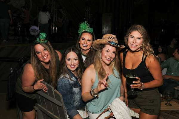 Despite Pat Green having to cancel a planned St. Patrick's Day show at The Rustic, the bar was still overflowing with revelers Saturday night, March 17, 2018, looking for a wee touch of the Irish.
