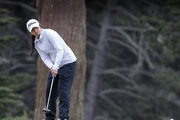 Simar Singh wins 4-3 over Aman Sangha in the women's finals of the San Francisco City Golf Championship on Sunday, March 18, 2018 in San Francisco, CA