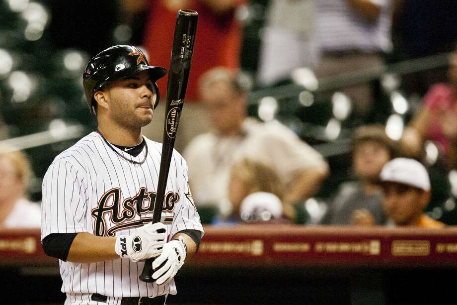 Coming backIn 2007, Altuve was initially sent away from an Astros tryout in Maracay, Venezuela due to concerns surrounding his height. He returned the next day and impressed the scouts in attendance. Houston signed Altuve as an undrafted free agent that March with a meager $15,000 signing bonus — 1,400x his new annual salary. Photo: Patrick T Fallon/Houston Chronicle