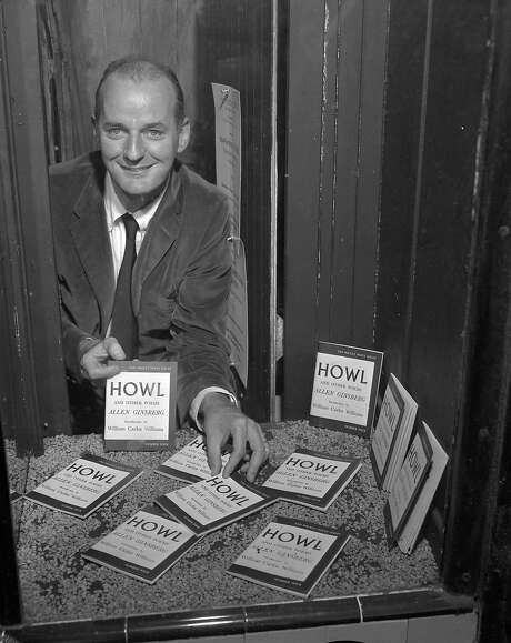 "Lawrence Ferlinghetti was the publisher of Allen Ginsberg's ""Howl,"" which he was put on trial for in 1957. Photo: Bob Campbell / The Chronicle 1957"