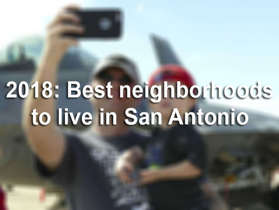 If you're looking for a great place to live in the San Antonio area, consider looking beyond the city's center. AreaVibes ranked the best neighborhoods to live in San Antonio in  2018. Click ahead to view each area's ranking. Photo: FILE