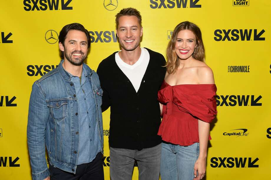 "Milo Ventimiglia, Justin Hartley, and Mandy Moore attend the ""This is Us"" Premiere 2018 SXSW Conference and Festivals at Paramount Theatre on March 12, 2018 in Austin, Texas. Photo: Matt Winkelmeyer/Getty Images For SXSW"