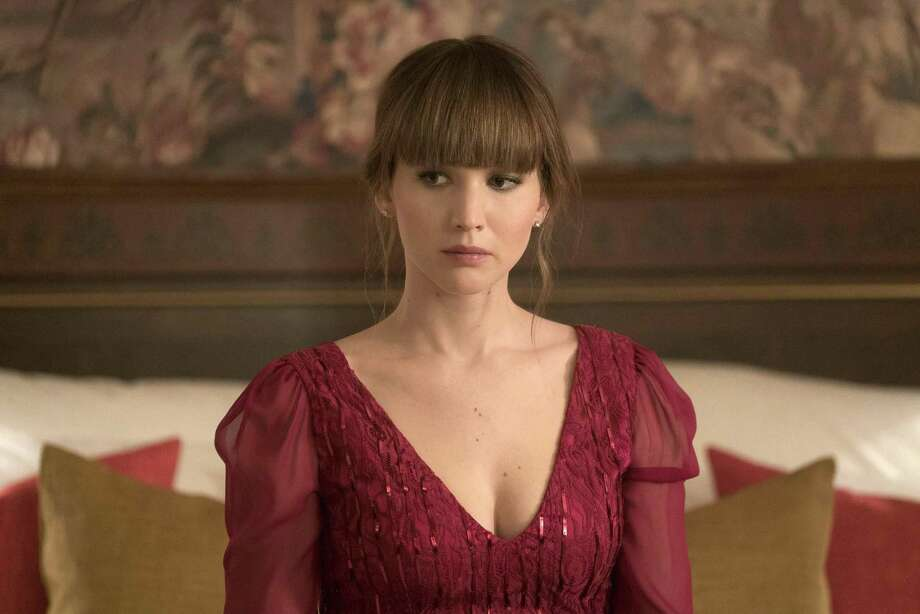 "In this image released by Twentieth Century Fox, Jennifer Lawrence appears in a scene from ""Red Sparrow."" Photo: Murray Close / Associated Press / TM & © 2018 Twentieth Century Fox Film Corporation.  All Rights Reserved.  Not for sale or duplication."