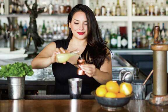 "Alba Huerta, owner/operator of Julep bar in Houston, has written a cocktail-recipe book, ""Julep: Southern Cocktails Refashioned."""