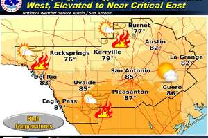 Warning for the San Antonio-area for March 19, 2018.