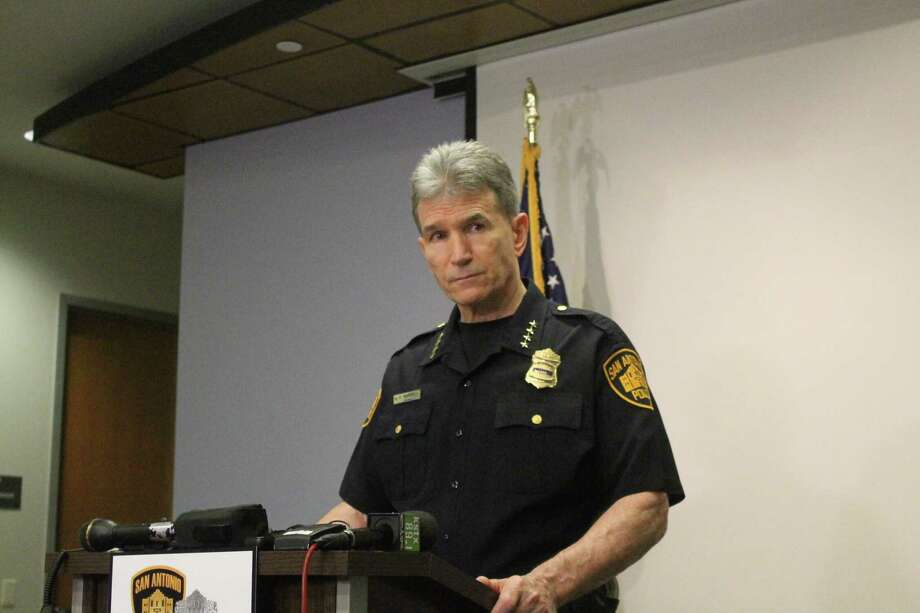 San Antonio Police Chief William McManus talked about Final Four safety plans on Tuesday, March 20, 2018. Photo: Fares Sabawi/San Antonio Express-News