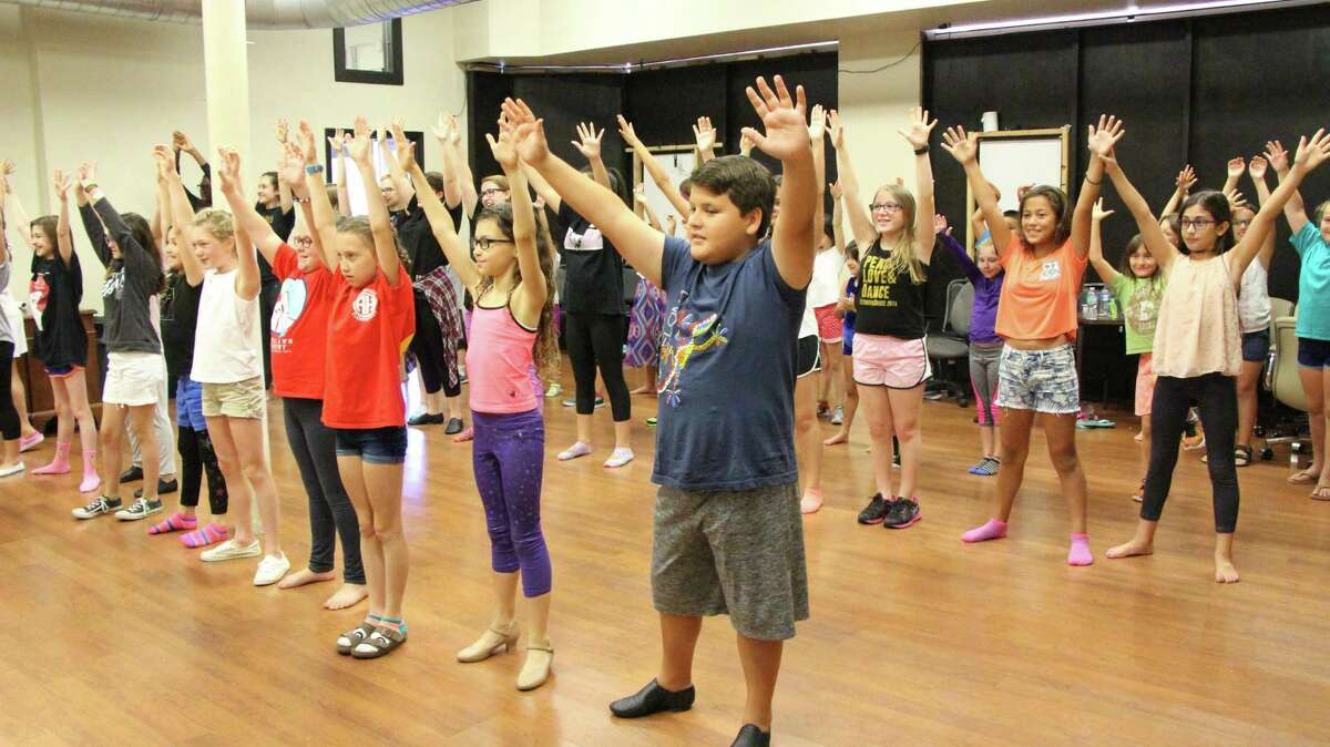 This file photo shows students at a summer camp put on by Woodlawn Academy for the Performing Arts at Woodlawn Theatre.