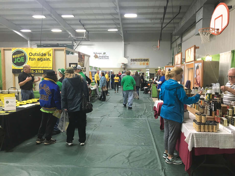 Crowds were steady Saturday and Sunday at Metro East Lutheran High School's Home & Garden Show. This was the fifth year for the event, which serves as a fundraiser. Photo: Bill Tucker • Btucker@edwpub.net