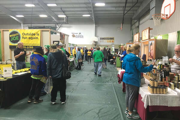 Crowds were steady Saturday and Sunday at Metro East Lutheran High School's Home & Garden Show. This was the fifth year for the event, which serves as a fundraiser.