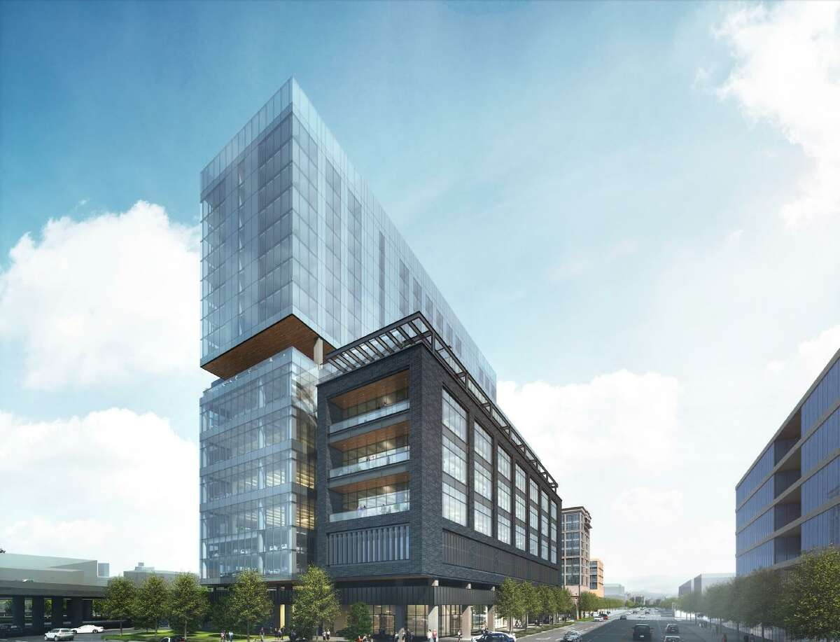 The 260-foot tower, at the corner of Broadway and Newell Avenue, would be the tallest building by far along the booming Broadway corridor, where Pearl developer Silver Ventures is constructing a 10-story new headquarters for local credit union Credit Human.