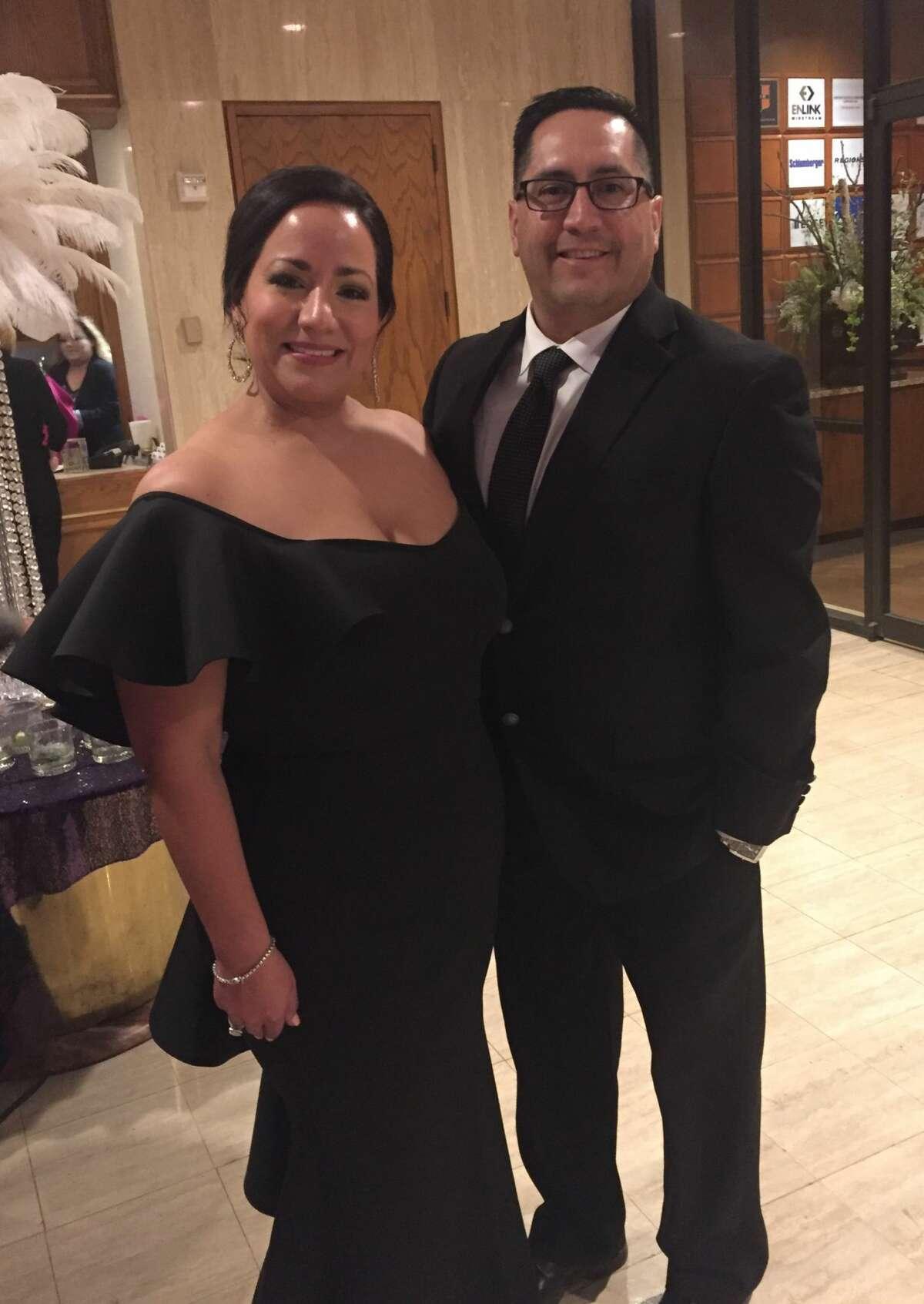 Mardi Gras: Joanna and Jacinto Delgado