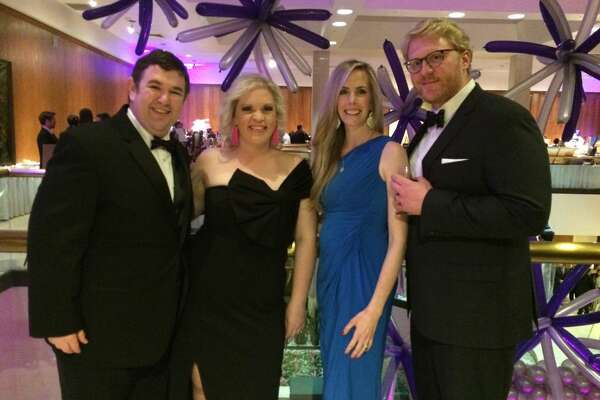 Mardi Gras:    Stephen and Jessica Stoltz, Lauren Neatherlin and Grant Alford
