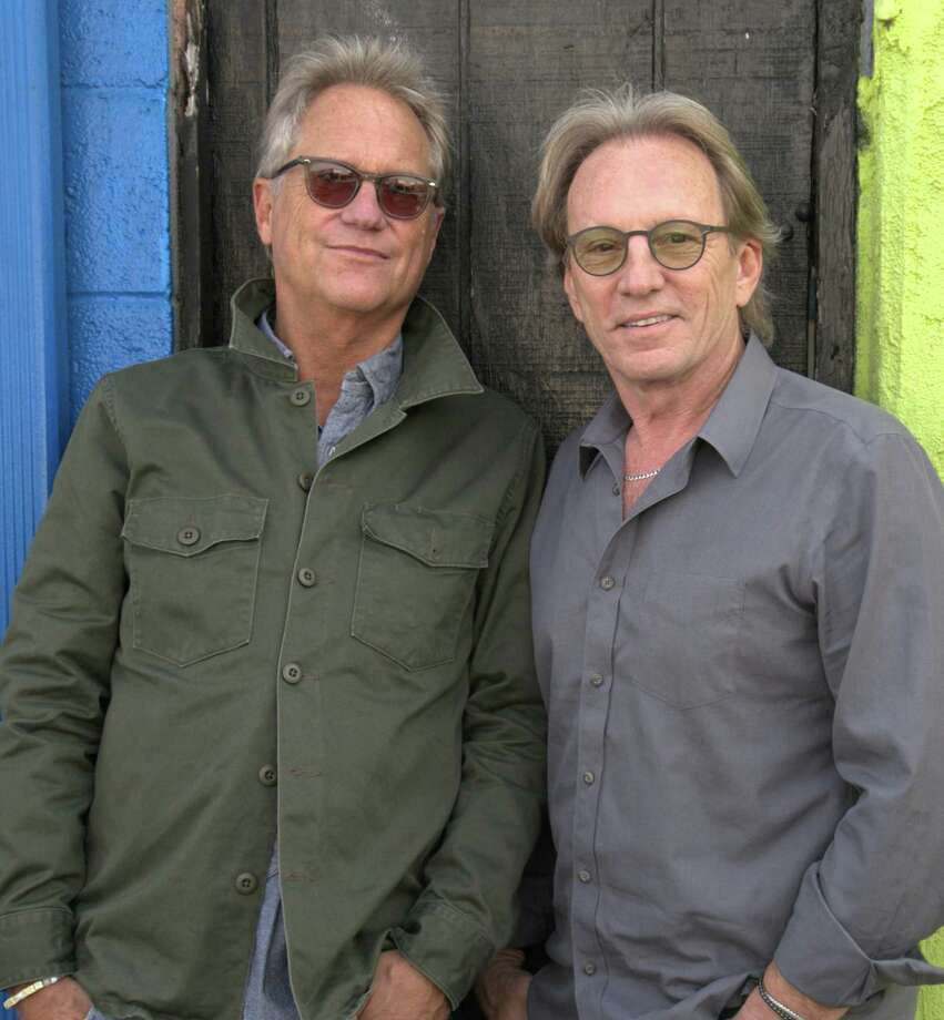 America, Gerry Beckley, left, and Dewey Bunnell, will perform at The Warner Theatre in Torrington on March 30. Photo: Tour Design / Contributed Photo