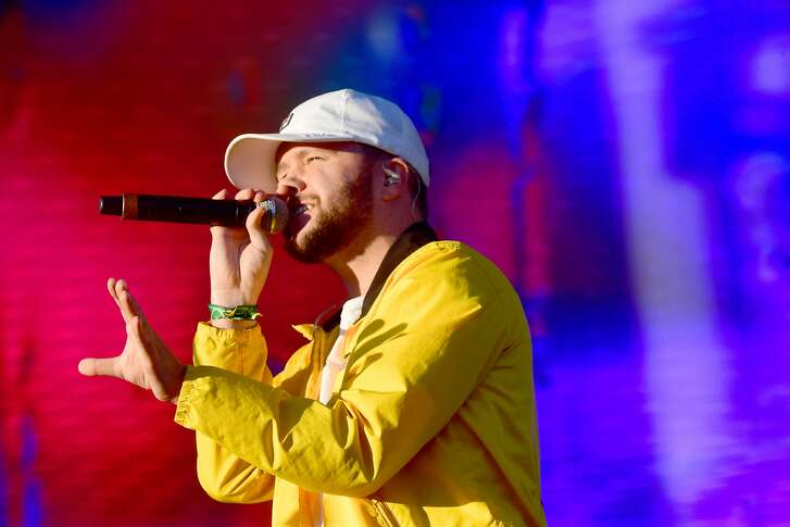 LAS VEGAS, NV - SEPTEMBER 23: Quinn XCII performs on Ambassador Stage during day 2 of the 2017 Life Is Beautiful Festival on September 23, 2017 in Las Vegas, Nevada.