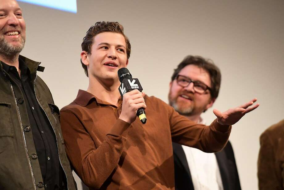 "Tye Sheridan (center) attends the ""Ready Player One"" premiere in Austin, Texas. Photo: Matt Winkelmeyer, Getty Images For SXSW"