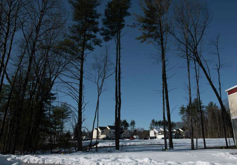 Property under development by New York Development Group is behind Sterling Homes just north of Brookline Road Monday March 19, 2018 Ballston Spa, N.Y. (Skip Dickstein/Times Union)