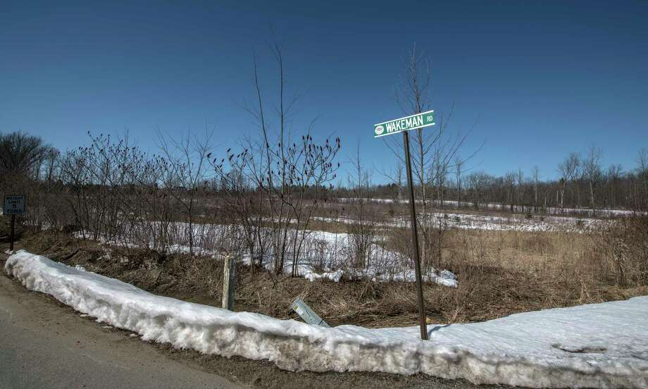 Parcel of land on the corner of Wakeman and State Route 50 in Monday March 19, 2018 Ballston Spa, N.Y. that the Spinney Group plans to develop. (Skip Dickstein/Times Union) Photo: SKIP DICKSTEIN, Albany Times Union / 20043249A