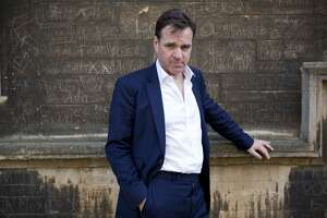 Historian Niall Ferguson poses for a portrait at the Oxford Literary Festival on April 9, 2011 in Oxford, England.