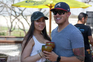 San Antonians had their fill of spicy sips at chef Johnny Hernandez's Michelada Mania on Sunday, March 18, 2018 at the Dominion-area La Gloria. Hernandez's restaurants — both La Gloria locations, The Fruteria, Burgerteca and Villa Rica — showed off their michelada-making skills and let San Antonians judge the drinks.