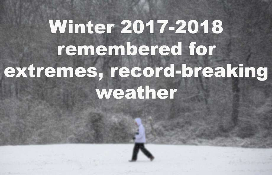 Winter 2017-2018 will be remembered for extremes, as well as record-breaking weather. Click through the slideshow to relive this past winter. Photo: Connecticut Post