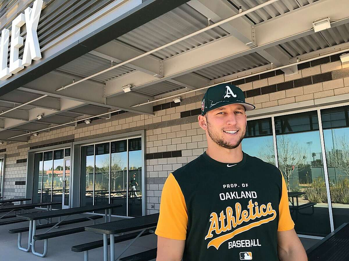 A's minor-leaguer James Kaprielian, recovering from Tommy John surgery, hopes to play in the big leagues this season.