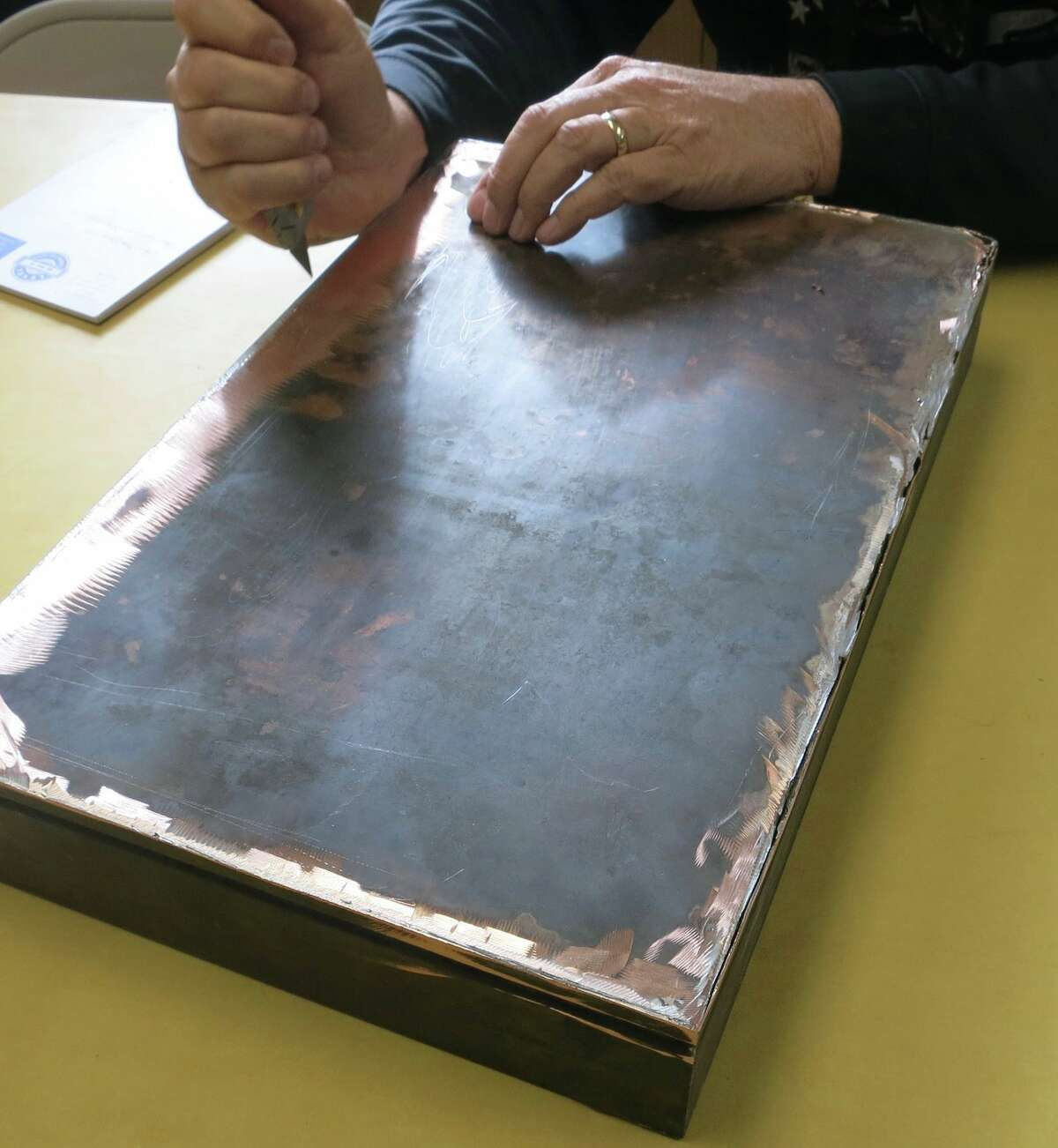 A time capsule from 1927 was opened on Friday in Oakland. It had been found during construction at an elementary school, and was filled mostly with paper ephemera from the era, says Liam O'Donoghue of East Bay Yesterday.