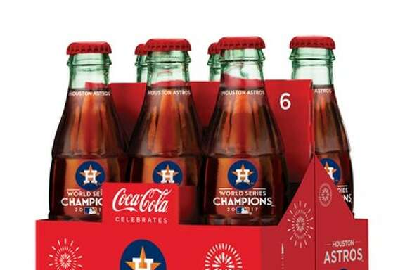 Coca-Cola Southwest Beverages said Monday it has produced an eight-ounce Coca-Cola bottle bearing the Astros logo and 2017 World Series logo. The bottles are available at local Kroger stores beginning Monday.