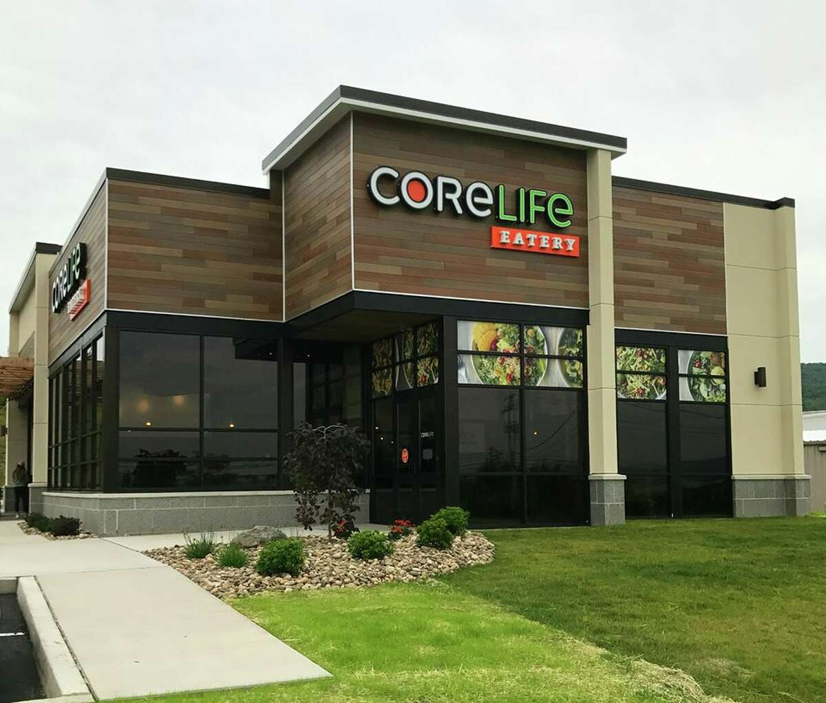 Coming soon: CoreLife Eatery, a Syracuse-based chain that offers healthful foods, has plans for restaurants in Latham Farms (next to Dick's Sporting Goods) and at the Residence 15 at Village Plaza in Clifton Park.