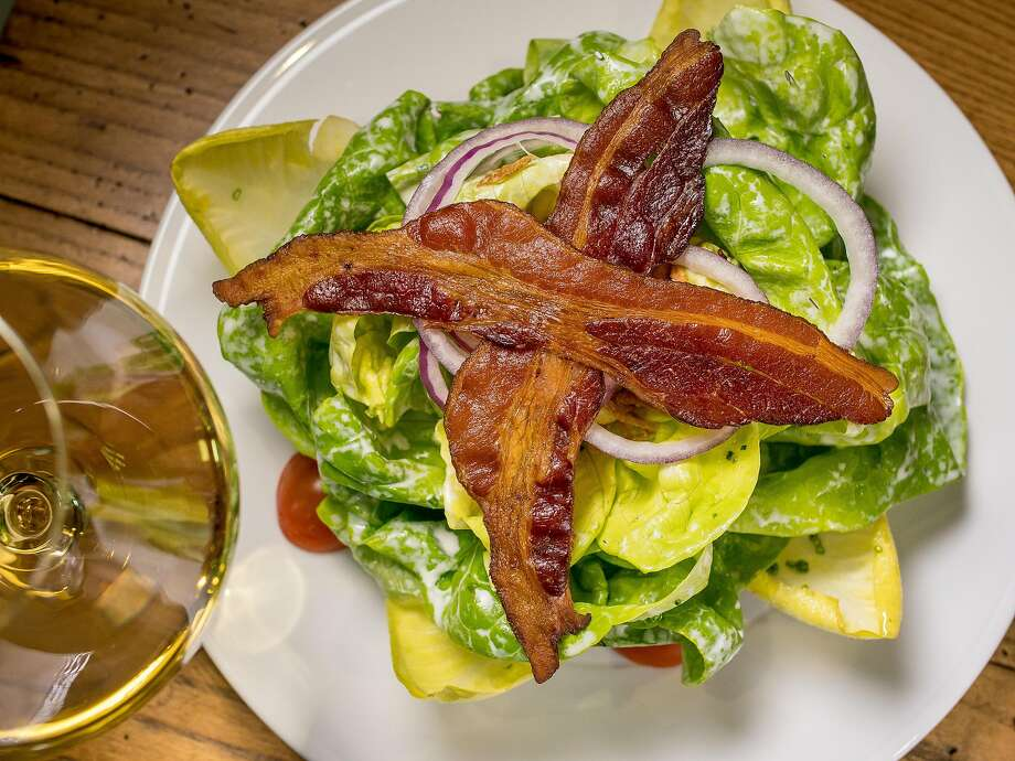 The Bibb lettuce salad with bacon at Charlie Palmer Steak in Napa. Photo: John Storey, Special To The Chronicle