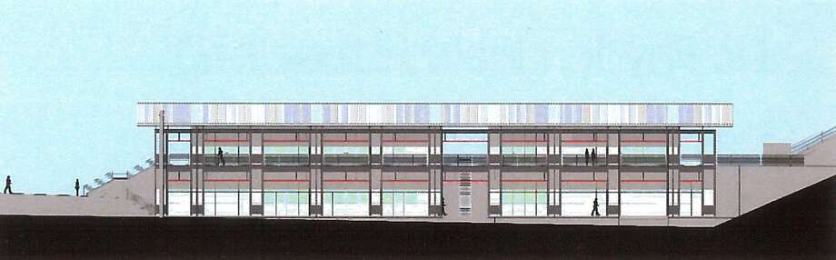 An architectural rendering of J.R. Payden Field House to be built at the athletic fields at Derby High School, in Derby, Conn. March 19, 2018. Photo: Contributed Photo / Contributed Photo / Connecticut Post Contributed