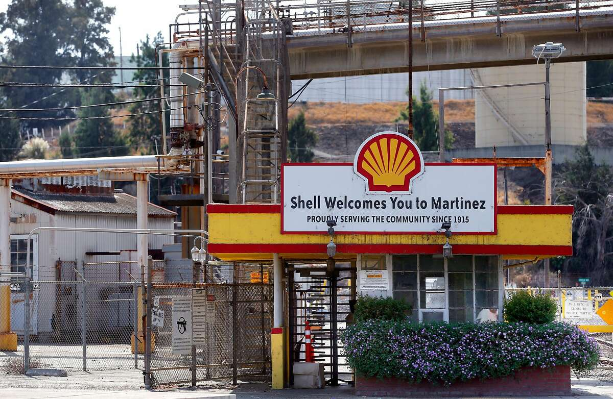 The Shell refinery in Martinez, Ca., as seen on Tuesday September 12, 2017.