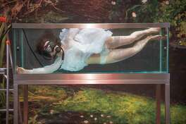 "Nadja Verena Marcin, ""Ophelia"" (perfomance photo)"
