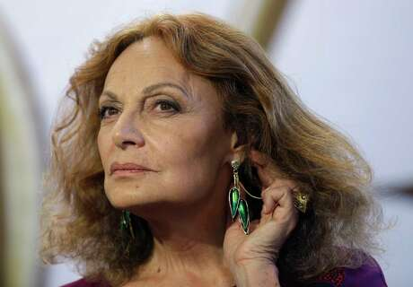 Designer Diane von Furstenberg is known for her philanthropic efforts addressing women's rights and equality.