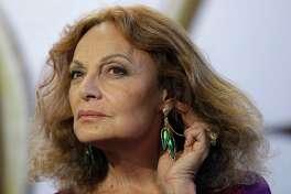 Designer Diane von Furstenberg is known for her philanthropic efforts addressing women's rights and equality.