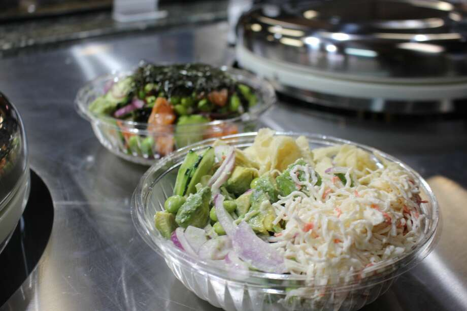 Ohana Poke will open its doors for service on Tuesday, March 20. The menu includes poke bowls, burritos and salads. Photo: RICH LOPEZ/REPORTER-TELEGRAM
