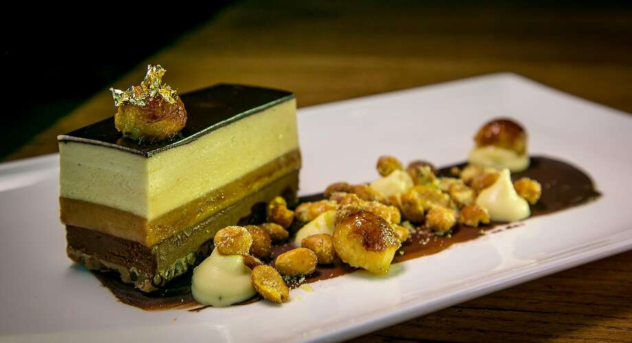 Peanut butter terrine at Charlie Palmer Steak in Napa. Photo: John Storey, Special To The Chronicle