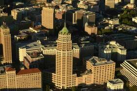 The Tower Life Building, which has graced the San Antonio skyline since 1927, is one of about 200 buildings in the newly designated federal Historic District that encompasses the downtown and the River Walk.