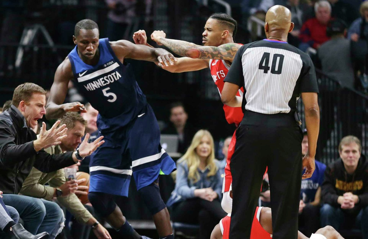 He's a great teammateWhen Timberwolves center Gorgui Dieng shoved Chris Paul back in March, Green immediately got Gorgui back. There was no hesitation on his part. He saw someone come after his teammate and was right there to retaliate. Green was fined $25,000.