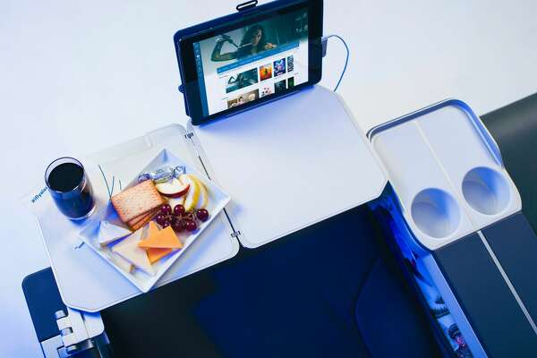 Bulkhead seat: Alaska Airlines will upgrade First Class with Recaro leather seats with footrests, 40-inch pitch, tablet holders and easy-to-reach cup holders and power outlets.