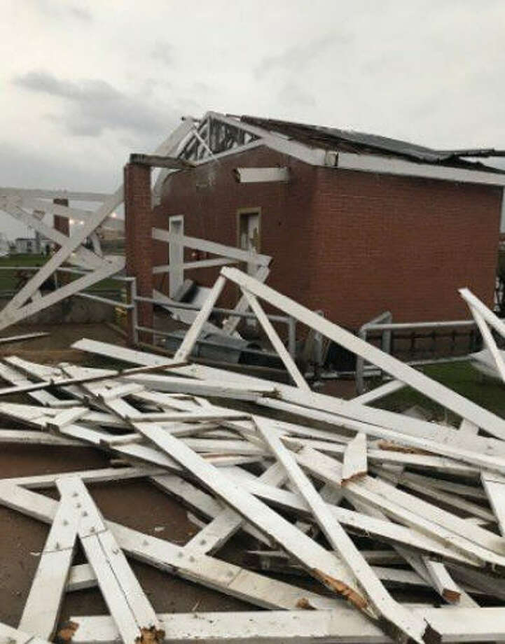 An overnight storm wreaked havoc on some Texas prisons in the Huntsville area. Photo: TDCJ
