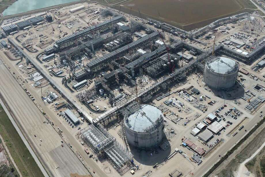The Cheniere Liquid Natural Gas plant is seen in Portland, Texas, Tuesday, Aug. 8, 2017.  Continue to see quarterly earnings results from other area energy companies. Photo: JERRY LARA / San Antonio Express-News / San Antonio Express-News