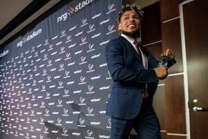 New Texans safety Tyrann Mathieu is excited to join J.J. Watt and the defense this season as well as live closer to family.