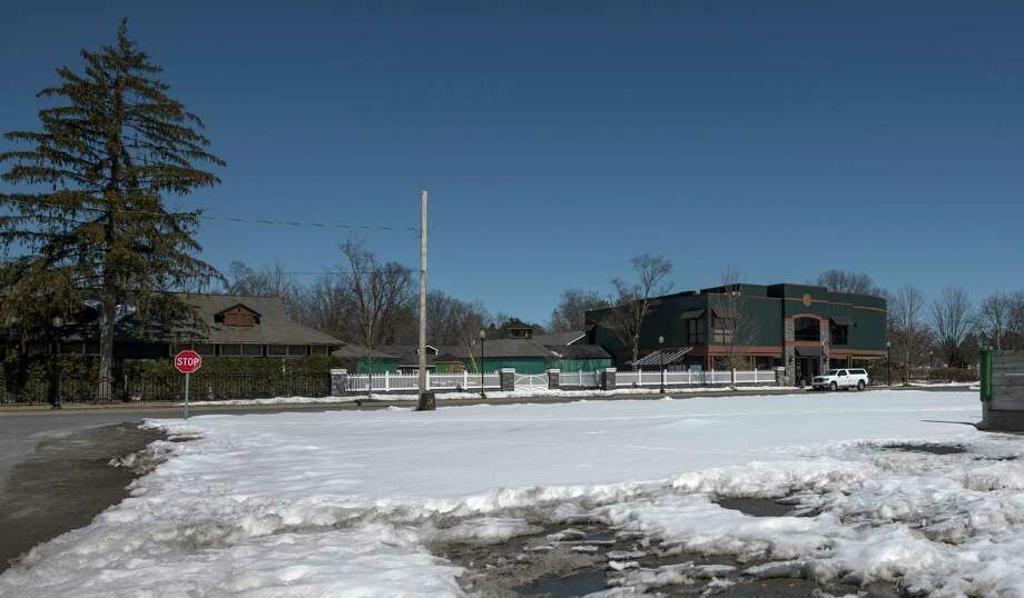 The land at the corner of Case and George Streets sits idle as the Fasig Tipton Sales Company moves ahead with plans to put a 19 stall barn on the property Monday March 19, 2018 in Saratoga Springs, N.Y. (Skip Dickstein/Times Union) Photo: SKIP DICKSTEIN / 20043253A