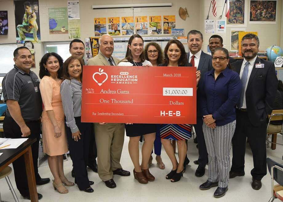 United South High School teacher Andrea Garza, H-E-B Excellence in Education finalist in the Leadership Secondary category. Photo: Courtesy /
